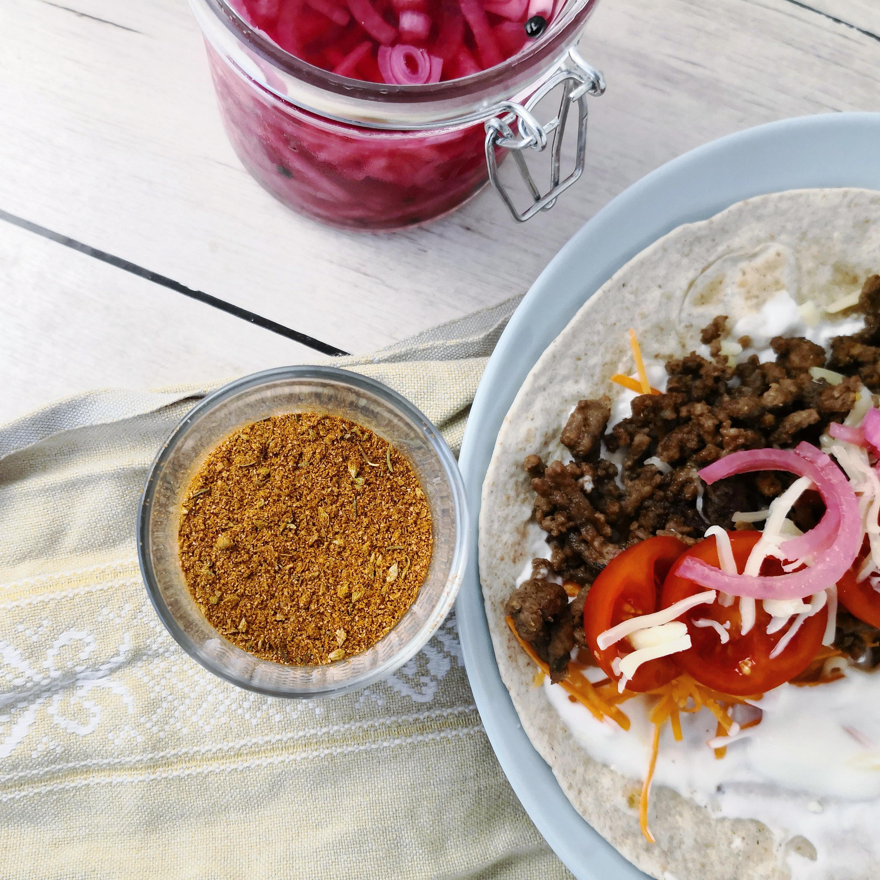 Chilipulver & Burritokrydderi