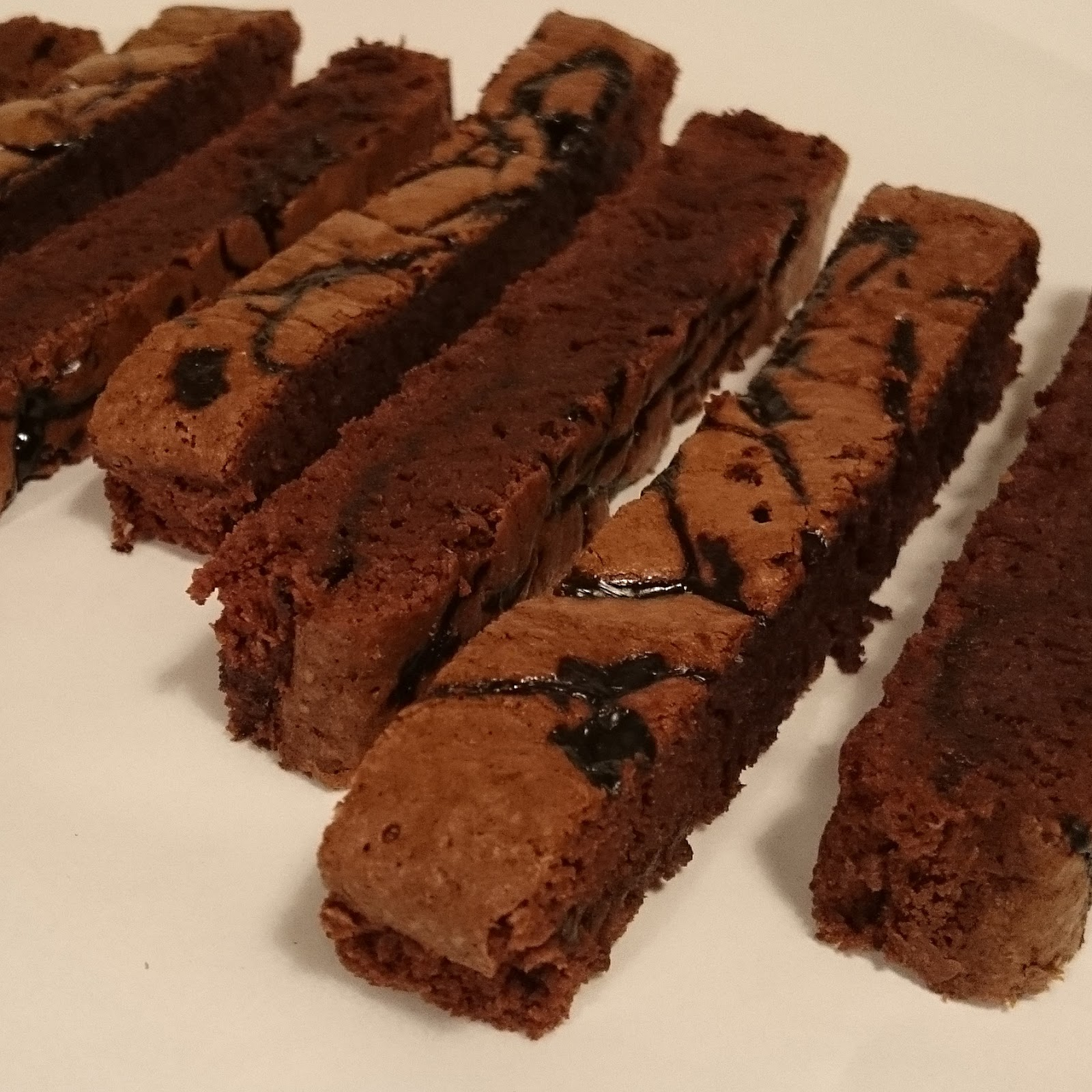 Brownie with Salty Liqourice Syrup