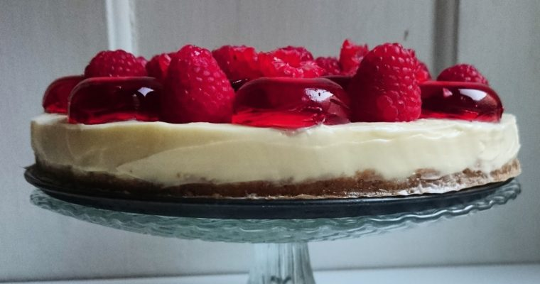 White Truffle Cake with Liquorice