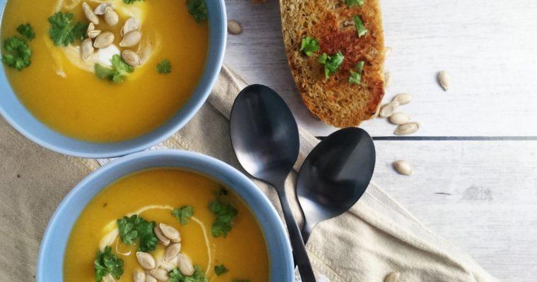 Butternut Squashsuppe