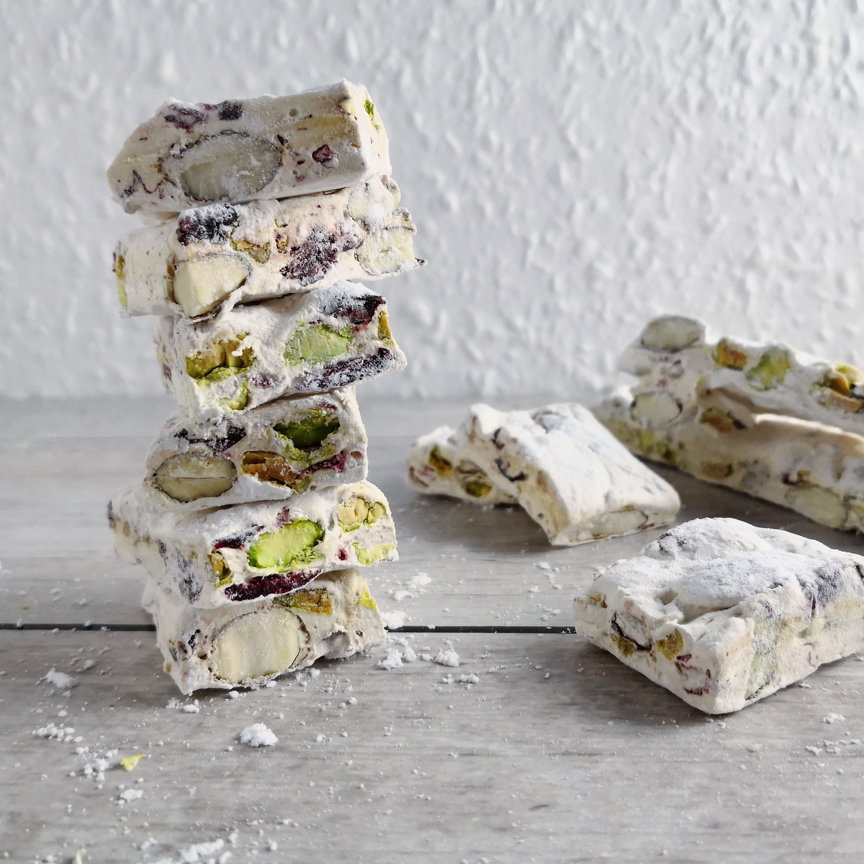 French Nougat with Cranberries