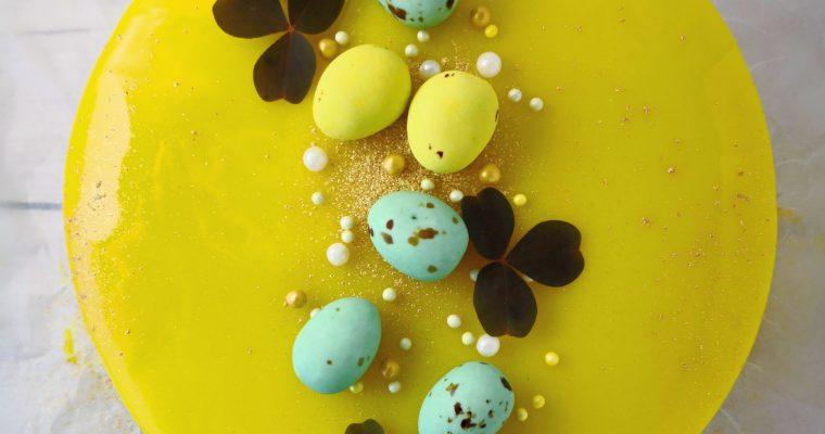 Påskekage med Citron og Hvid Chokolade