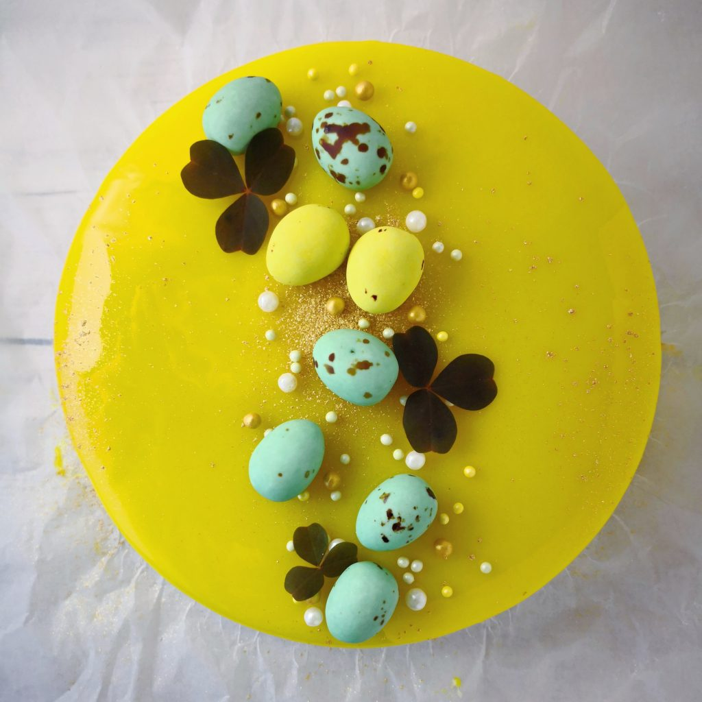 Easter Cake with Lemon and White Chocolate